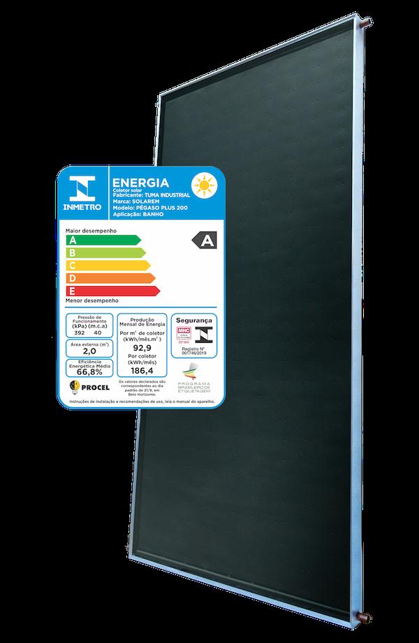 Coletor Solar Pegaso Plus