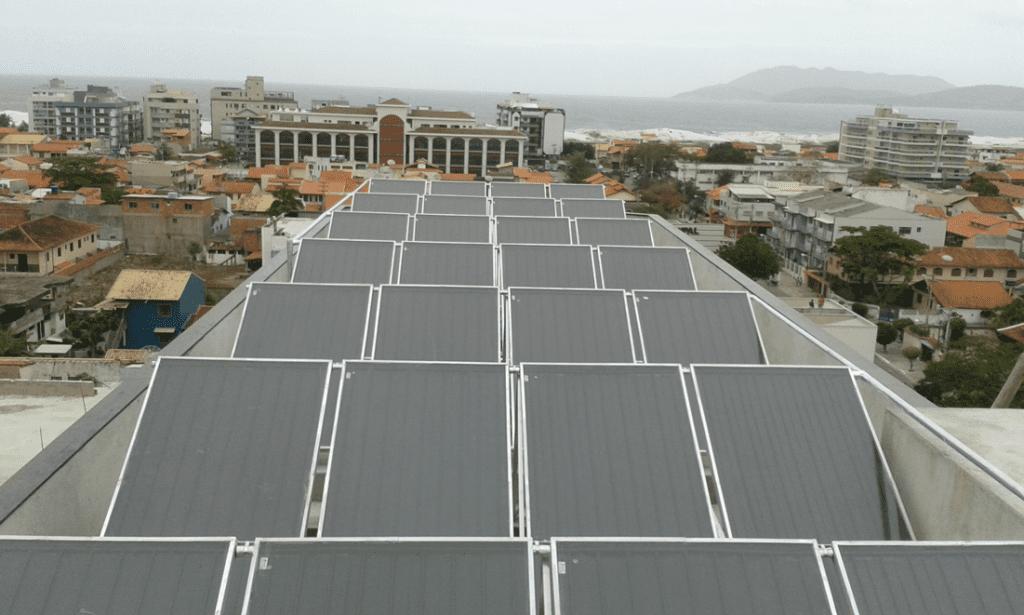 Aquecimento solar para hotéis