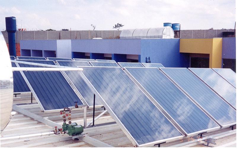 Aquecedor solar de água: ideal para vestiários e alojamentos de qualquer porte